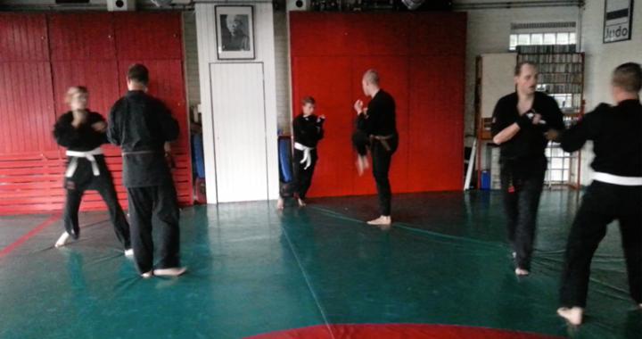 Examenkandidaten Shaolin Kempo Barendrecht